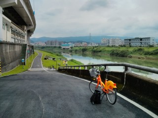 Radweg am Keelung River