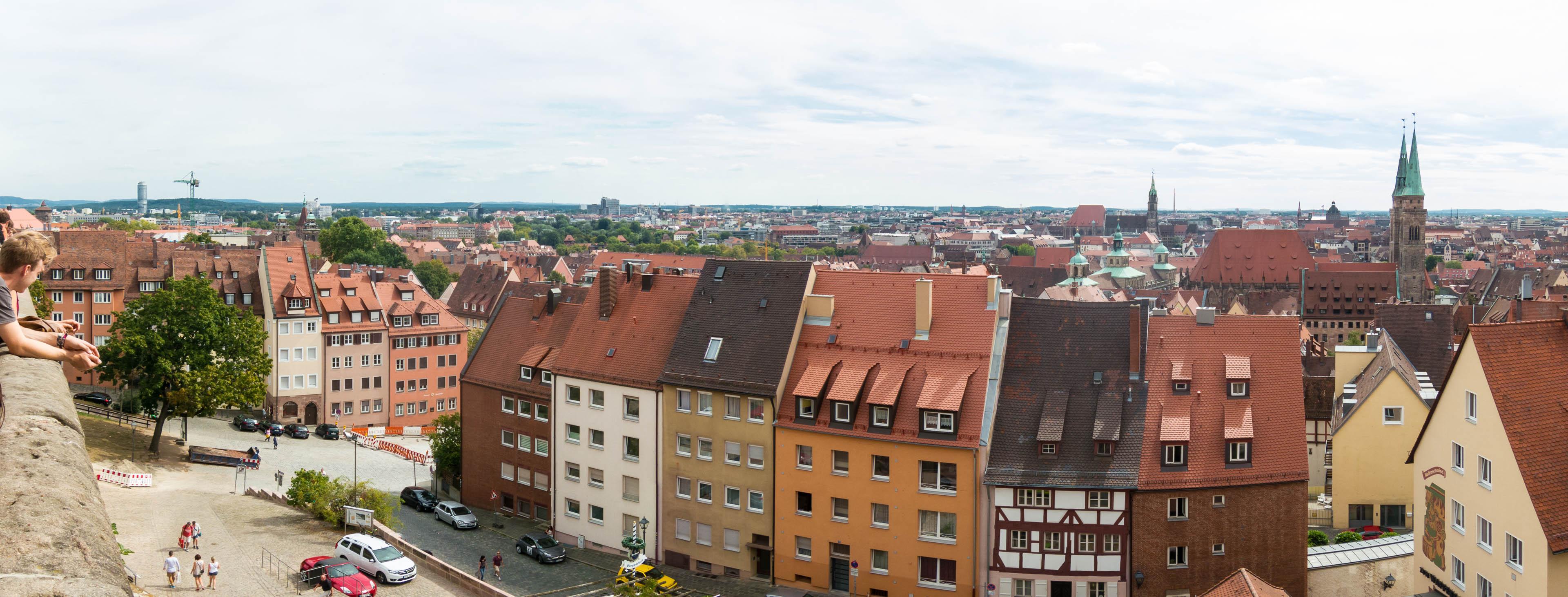 Panorama Nürnberg