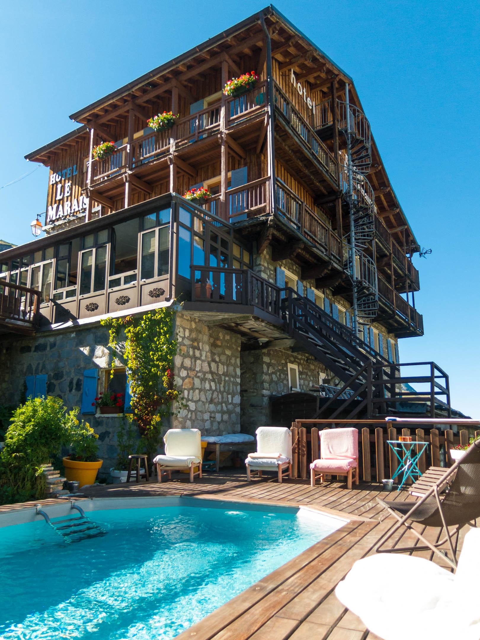 Hotel Le Marais in Tignes